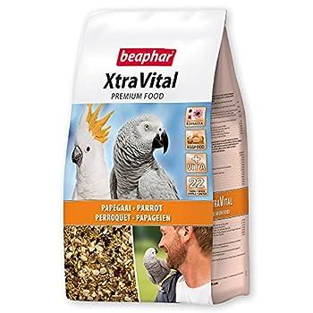 BEAPHAR – XTRAVITAL – Alimentation pour perroquet – Contient des fruits, graines et œufs – Renforce le système immunitaire – Procure un beau plumage et maintient en bonne santé – 2,5kg