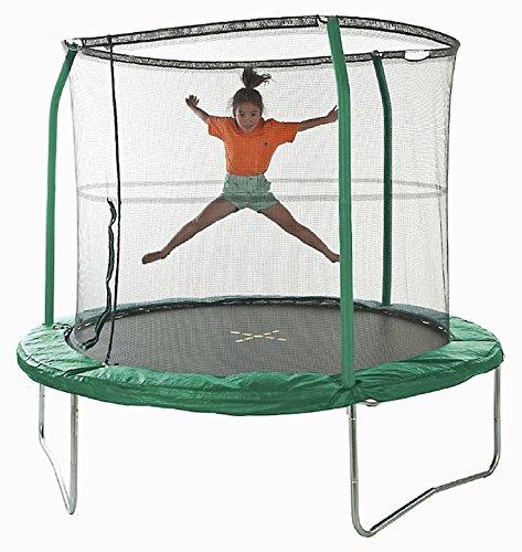 JUMPKING yj0813a - Trampolino Tappeto Elastico 243 cm Diametro con scaletta