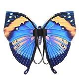 Damen Feenflügel Wings, Schmetterling Flügel verschiedene Farben, Frauen Schmetterlingsflügel Pixie Schmetterlings Cosplay-ZubehöR