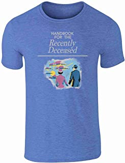 Handbook for The Recently Deceased Costume Graphic Tee T-Shirt for Men