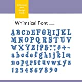 Xyron Whimsical Font Design Book for Xyron Personal Cutting System