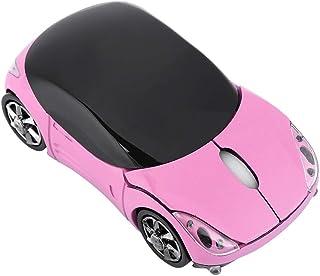 Mysz samochodowa dla dzieci, 2,4 G bezprzewodowa mysz z odbiornikiem USB, 3 przyciski 1600 DPI, tablet PC, mysz optyczna, ...