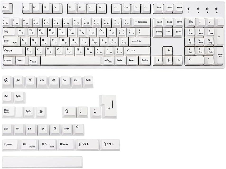 Kingjinglo Cherry Profile Keycaps PBT Seattle Mall 5 Dye-Sub 135 Face Max 62% OFF Keys Fu