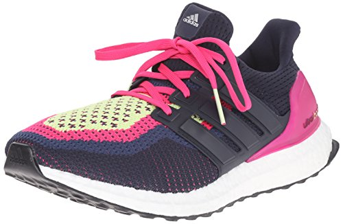 adidas Performance Women's Ultra Boost Running Shoe,Night Navy/Night Navy/Equipment Pink,8 M US
