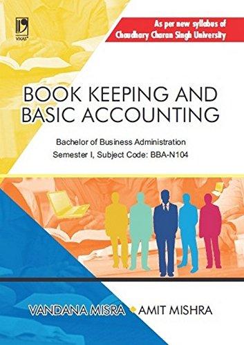 Book Keeping and Basic Accounting (CCS University)