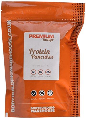 bodybuilding warehouse premium protein pancakes