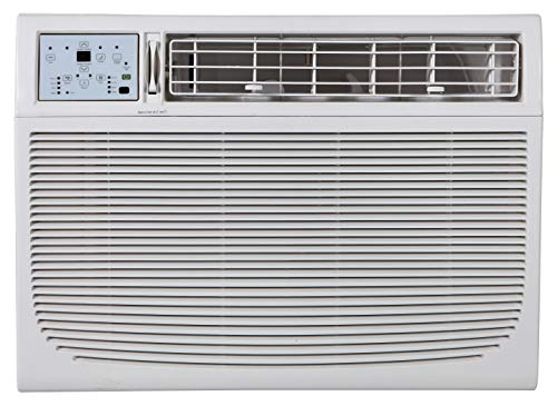 Keystone Energy Star 15,100 BTU 115V Window/Wall Air Conditioner with Follow Me LCD Remote Control, 15,000, White