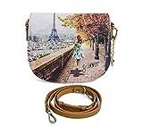 Borsa Y Not tracollina Parigi Tour Eiffel j 353