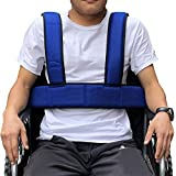 Wheelchair Seat Belt Torso Support Vest for Patient, Elderly & Disabled, Adjustable Full Body Harness Prevent Tilting or Falling & Keep User Upright, Chest Waist Band with Easy Release Buckles