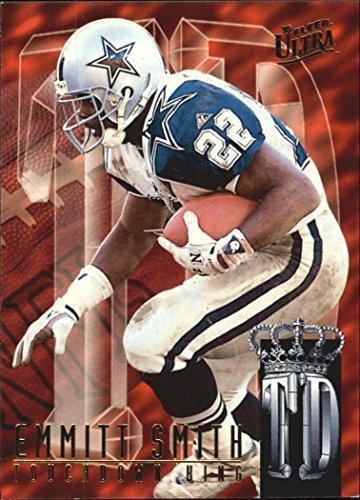 1995 Ultra Touchdown Kings #8 Emmitt Smith NFL Football Trading Card