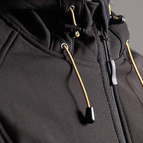 DBlade Softshell Mens Work Wear Vest Gilet - Black-S