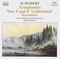 シューベルト:交響曲第8番D.759「未完成」/同第5番D.485/劇音楽「ロザムンデ」D797~バレエ音楽第2番
