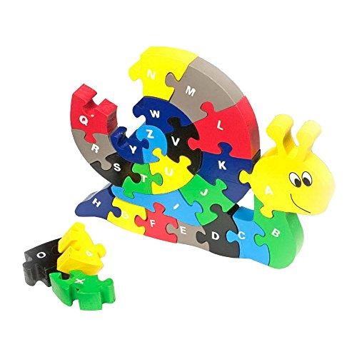 Puzzles  madera caracol