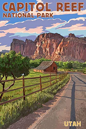 SANTANNA Natural Landscapes Poster, US National Park Art Print, Vintage Travel Posters, Bundle Set of Up to 3, Wall Art for Home Office Decor, Design 2 Collection 1