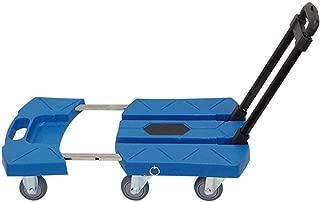 Utility Wagon Scalable Collapsible Folding Outdoor Garden Dump Cart Trolley Tipper Children Trolley Easy Haul Flat Trailer Truck