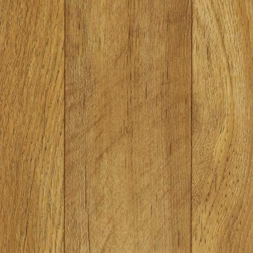 BODENMEISTER BM70563 Vinylboden PVC Bodenbelag Meterware 200, 300, 400 cm breit, Holzoptik Diele Schiffsboden Eiche