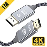 DisplayPort auf HDMI Kabel 4K 1m