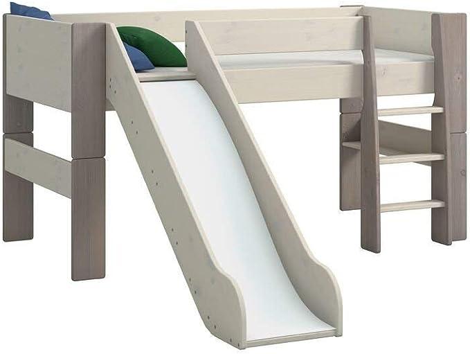 Hochbetten mit Rutsche für Kinder