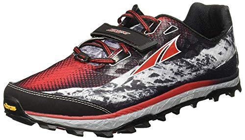 ALTRA Men's King MT Trail Running Shoes - Color: Black/Red (Regular Width) - Size: 8.5