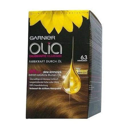 Garnier Olia 6.3 caramelo marrón: Amazon.es: Belleza