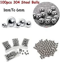 varios mm 100pcs Sourcingmap G25 1mm Bolas de rodamiento de acero cromado de precisi/ón