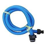 Manguera de Aire Bomba de pie con válvula Conector para Hinchable Barco Accesorios, Blue for 5L Air Pump