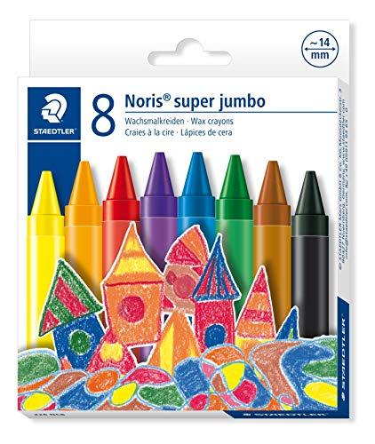 Staedtler 226 NC8 Noris Club Super Jumbo Wax Crayon (Pack of 8)