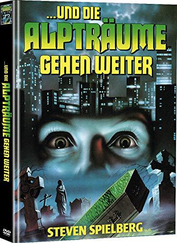 ... und die Alpträume gehen weiter - Mediabook - Limited Edition auf 77 Stück (+ Bonus-DVD mit weiterem Horrorfilm) [Blu-ray]
