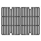 Hisencn 16.5' Cast Iron Cooking Grate Replacement for Smoke Hollow PS9900 7000CGS, Charbroil 463722315 463722313 463722416, Kenmore 141.152270 141.155400, Kingsford 24 INCH Expert Grill 24 INCH