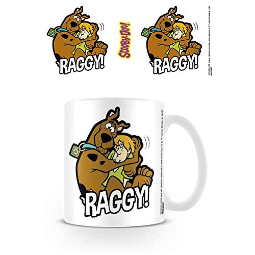 Scooby Doo Taza de cerámica Rasgado, Multicolor