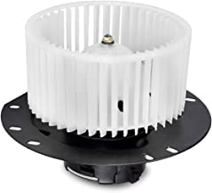 FAERSI HVAC Plastic Heater Front Blower Motor with Fan Cage Replacement fit for 1997-2014 Ford E-150/1997-2014 E-250/1997-2016 E-350/2000-2014/E-450 Van Front