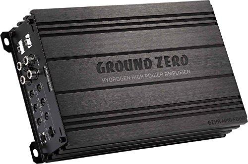 Ground Zero GZHA Mini-amplificateur 4 canaux Classe AB