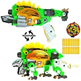Big Mo's Toys Kids Gun - Soft Foam Bullet Kid Gift Dinosaur Transformer Shot Gun - 1 Gun and 20 Bullets