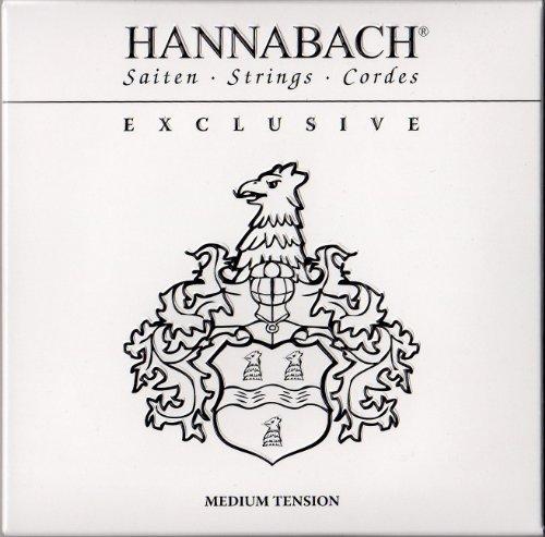 Hannabach 652737 Klassikgitarrensaiten Satz Exclusive Serie Medium Tension