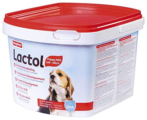 Beaphar Lactol Aufzucht-Milch 1 kg, vollwertiger Muttermilchersatz für Hundewelpen von Geburt an
