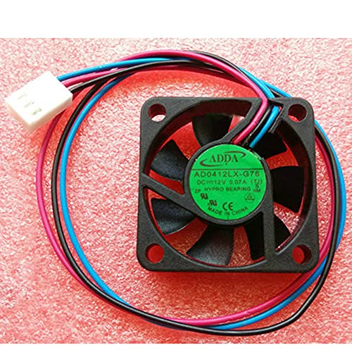 Radiator CPU Cooler Fan For AD0412LX-G76 TJ 40mm 4010 DC12V 0.07A 3line 3pin cooling fan