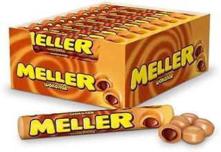 Meller Chocolate Toffee is a true candy legend! 38 gr. 1.35 oz. Pack of 4 | Ирис «Meller» с шоколадом