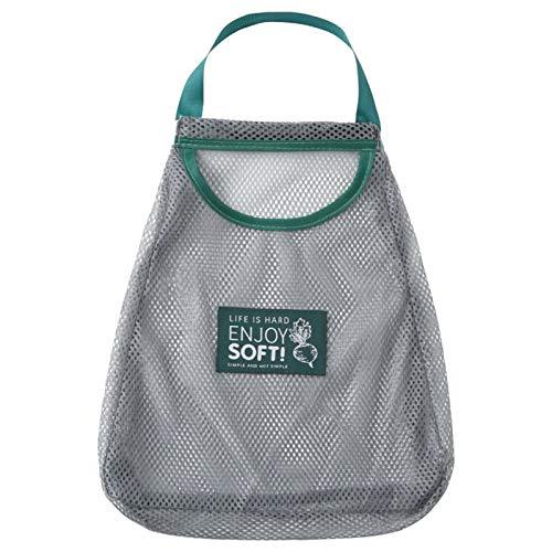 Taicanon Bolsas reutilizables de malla para frutas y verduras, bolsas de almacenamiento lavables para el hogar, accesorios de cocina, bolsa de la compra portátil, bolsas, cestas, etc.