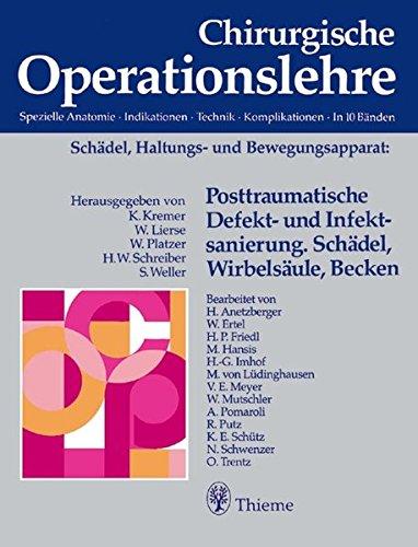 Chirurgische Operationslehre, 10 Bde. in 12 Tl.-Bdn. u. 1 Erg.-Bd., Bd.3, Ösophagus, Magen, Duodenum