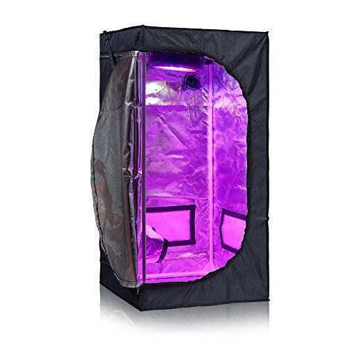 """Hongruilite 300w/600w LED Grow Light+Multi-sized Grow Tent+4"""" Inline Fan Carbon Air Filter Ducting Combo for Hydroponic…"""