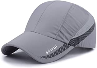Clape Outdoor Sun Visor Hats Lightweight Waterproof Breathable Sports Hat UPF50+ Ultra Thin Cooling Baseball Hats