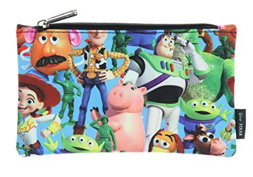 Loungefly Disney Pixar Toy Story All Over Character Print School Pencil Case