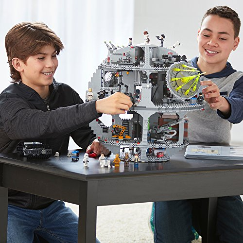 LEGO Star Wars Death Star 75159 Space Station Building Kit with Star Wars Minifigures for Kids and Adults (4016 Pieces)