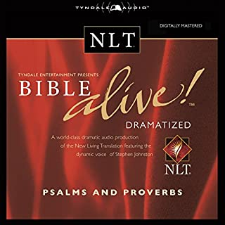 Bible Alive! NLT Psalms and Proverbs audiobook cover art