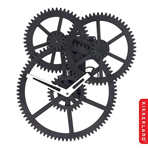 KIKKERLAND DESIGN TRIPLE GEAR WALL CLOCK [CL59] [並行輸入品]