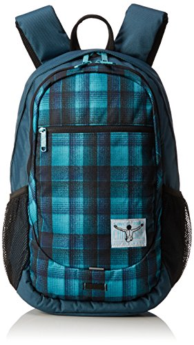Chiemsee Rucksack Techpack Two, Checky Chan Blue, 32 x 14 x 48 cm, 21 Liter