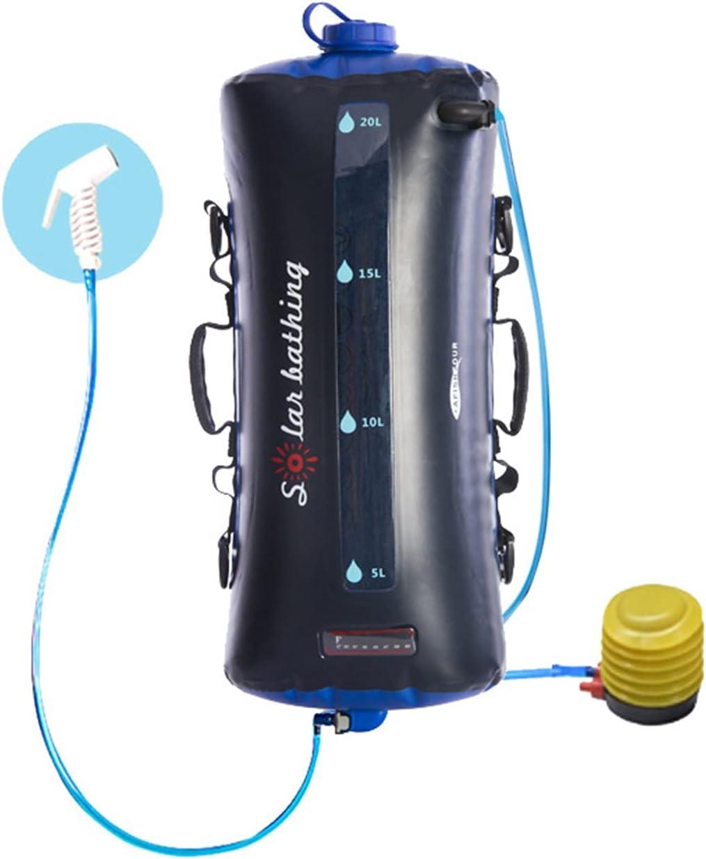 Solar Shower Bag Hua Portable Outdoor 20L Be super welcome Finally popular brand Show