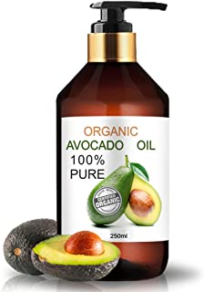 Organisk Avokadoolja 100% Naturlig 250 ml
