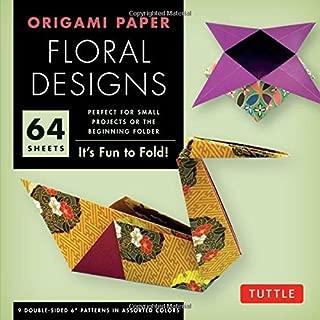 Origami Paper - Floral Designs - 6