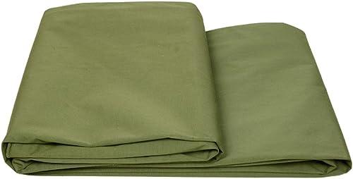 Tissu imperméable à l'eau imperméable Tissu imperméable à l'eau de toile épaisse, bache de prougeection solaire imperméable à l'eau, isolation de tissu de prougeection contre le vent de tissu d'ombre de camion, vert